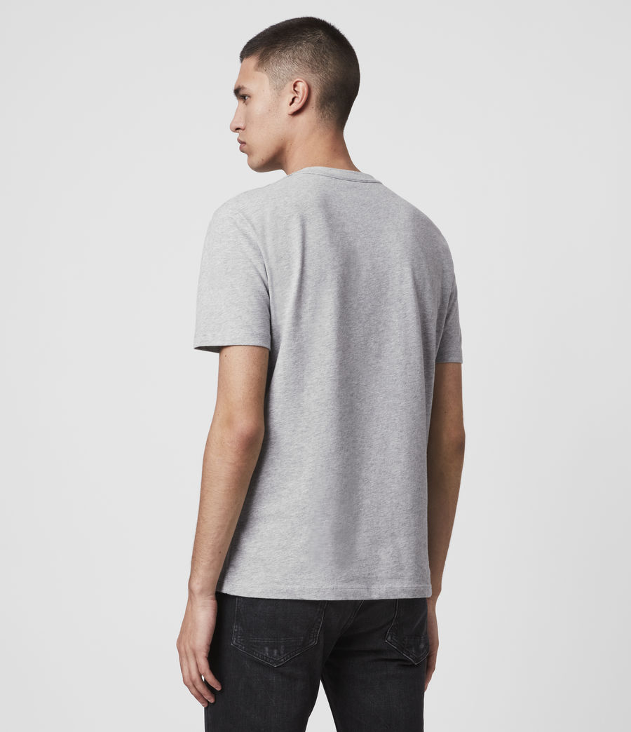 Mens Brace Tonic Short Sleeve Crew T-Shirt (grey_marl) - Image 3