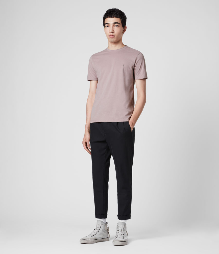 Mens Brace Tonic Crew T-Shirt (washed_lilac) - Image 3