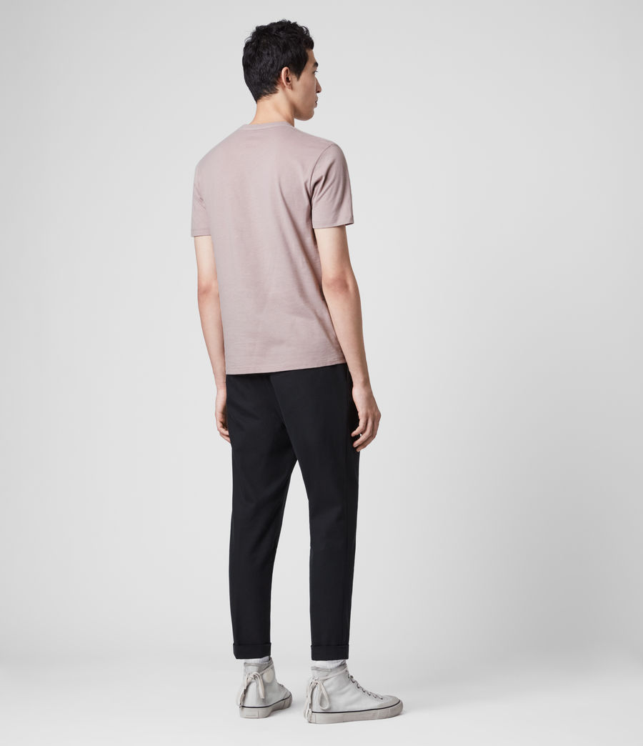 Men's Brace Tonic Crew T-Shirt (charcoal_marl) - Image 5