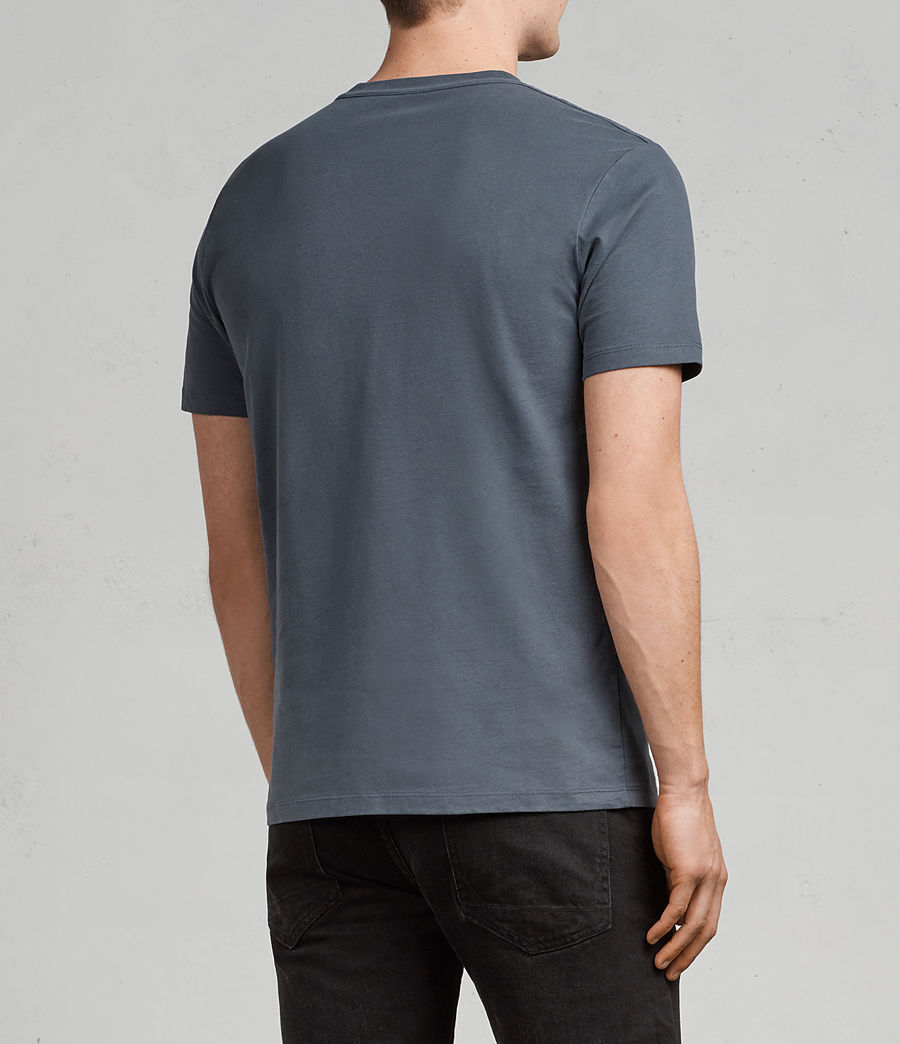 Herren Brace Tonic T-Shirt (washed_navy) - Image 4