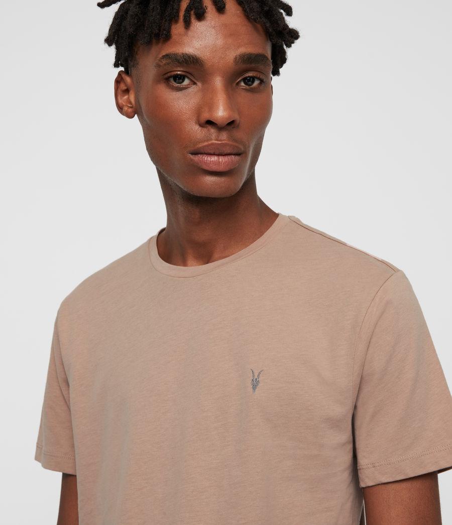 Hommes Brace Tonic Crew T-Shirt (quartz_pink) - Image 2