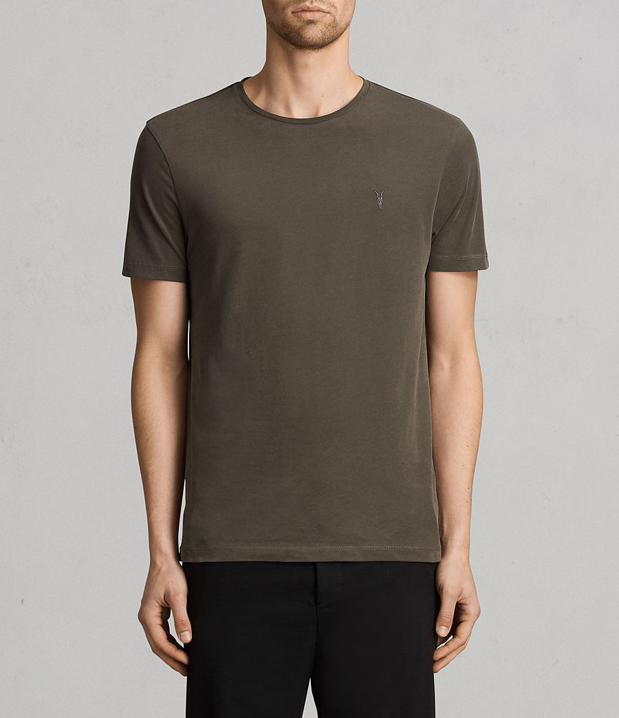 Men's Brace Tonic Crew T-Shirt (olive_green) - Image 1