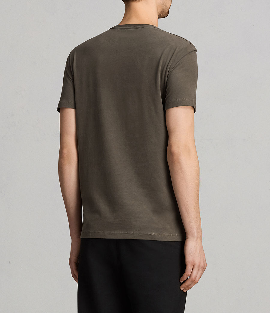 Men's Brace Tonic Crew T-Shirt (olive_green) - Image 3