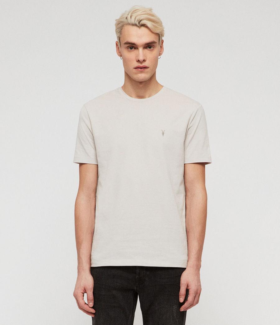 Mens Brace Tonic Crew T-Shirt (lunar_grey) - Image 1