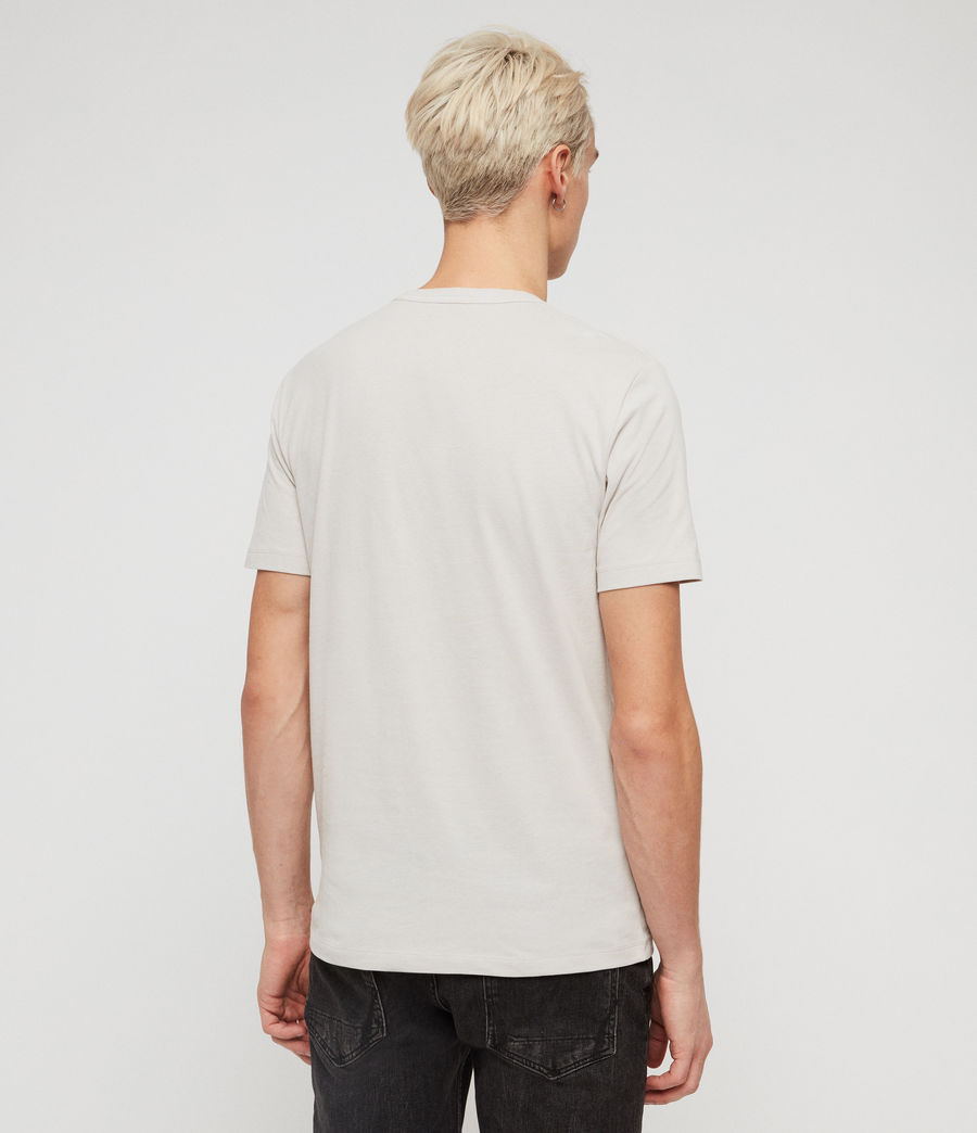 Mens Brace Tonic Crew T-Shirt (lunar_grey) - Image 4