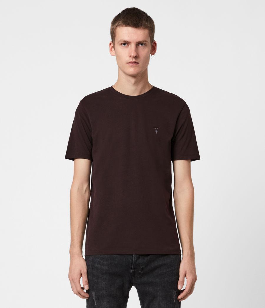 Men's Brace Tonic Crew T-Shirt (mahogany_red) - Image 1