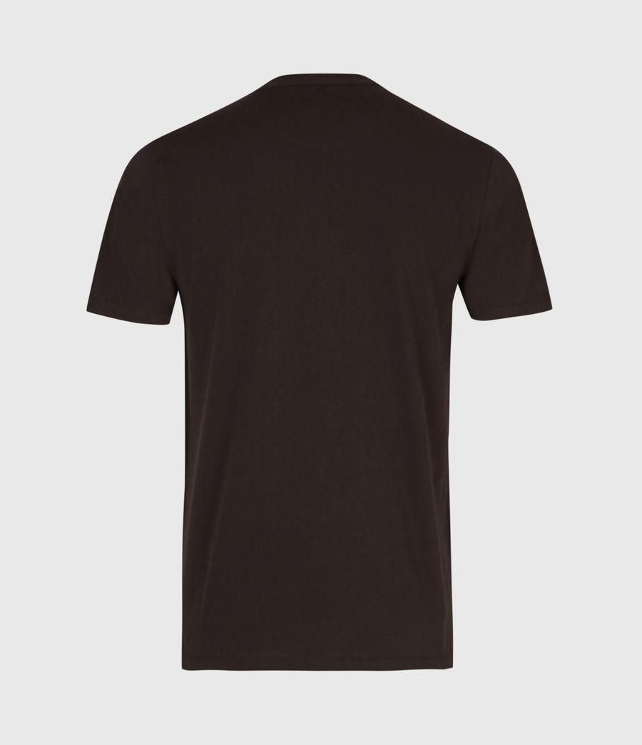Men's Brace Tonic Crew T-Shirt (mahogany_red) - Image 3