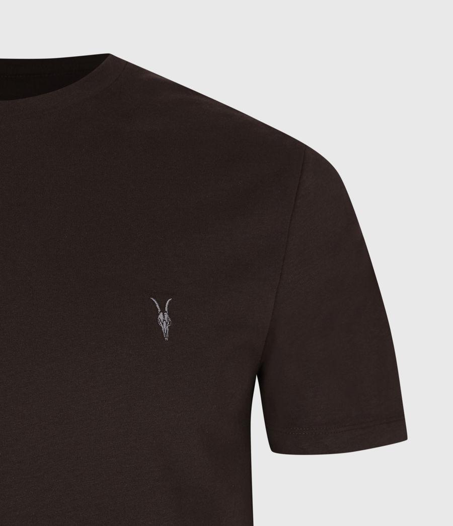 Men's Brace Tonic Crew T-Shirt (mahogany_red) - Image 4