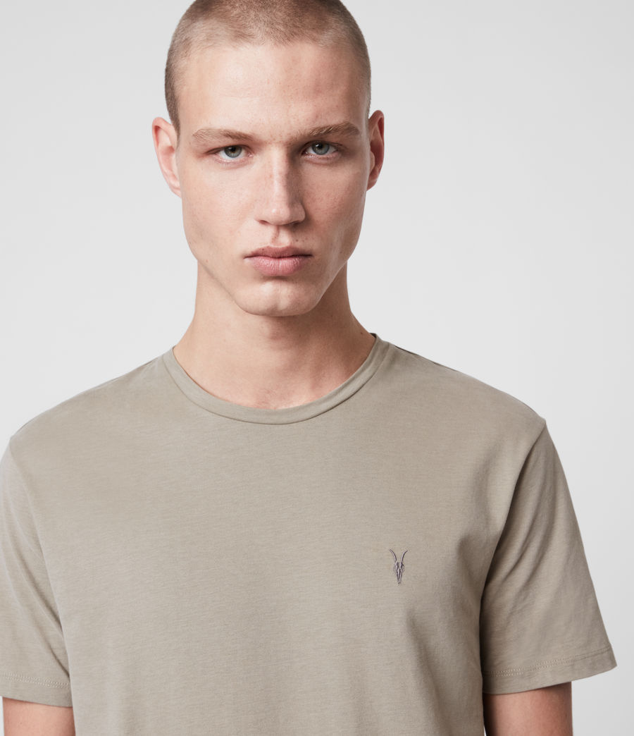 Men's Brace Tonic Crew T-Shirt (chalk_marl) - Image 2