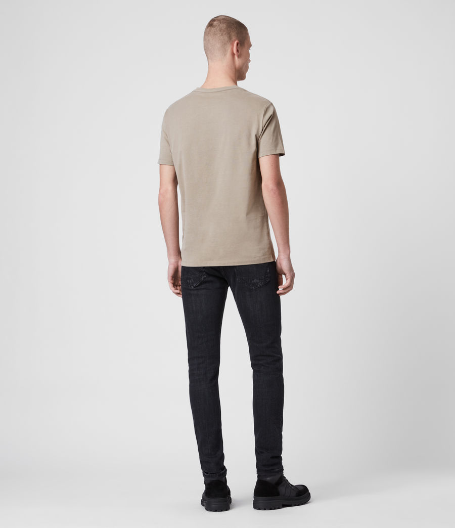 Men's Brace Tonic Crew T-Shirt (chalk_marl) - Image 4