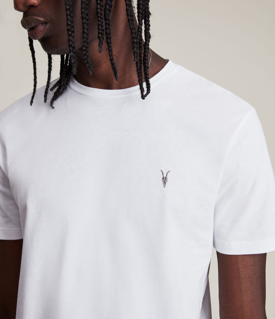 Herren Brace Tonic T-Shirt (optic_white) - Image 2