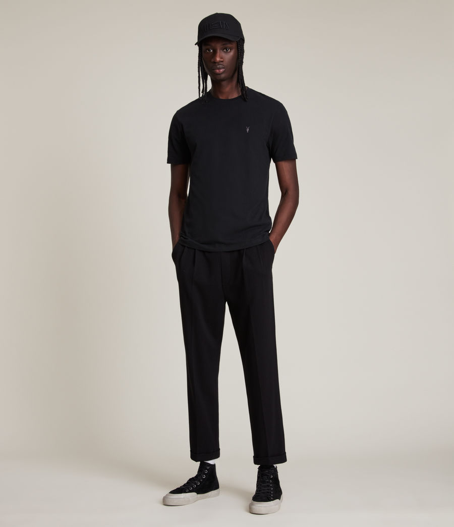 Men's Brace Tonic Crew T-Shirt (jet_black) - Image 3