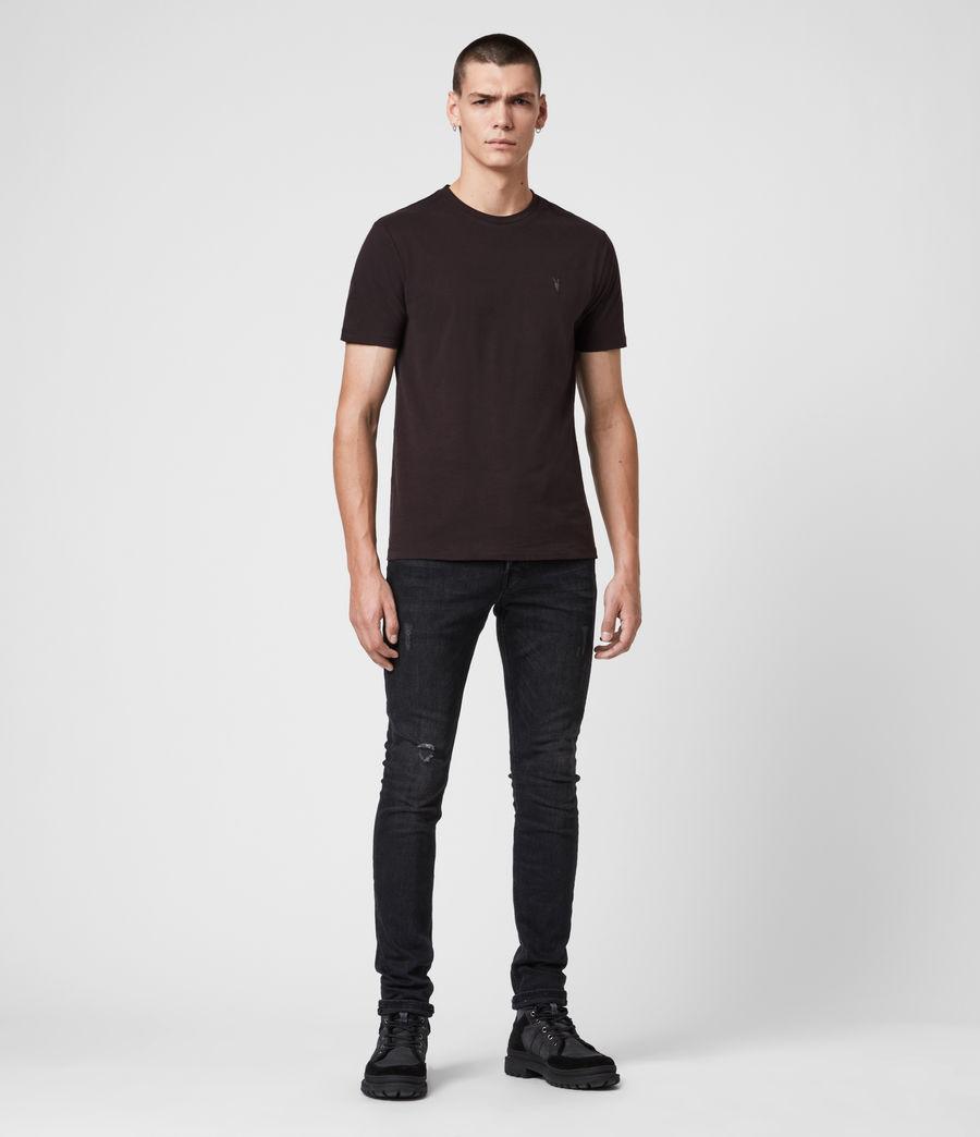 Hombres Camiseta Brace Tonic (leo_yellow) - Image 3