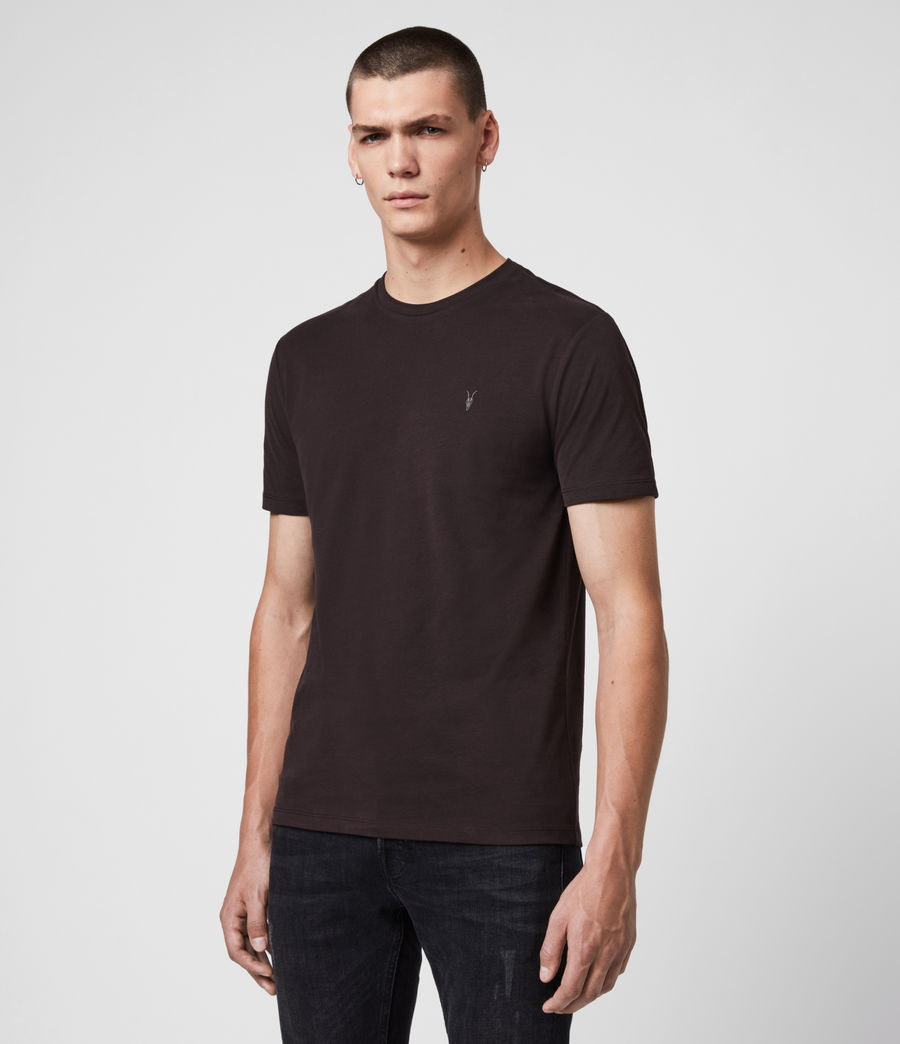 Hombres Camiseta Brace Tonic (leo_yellow) - Image 4