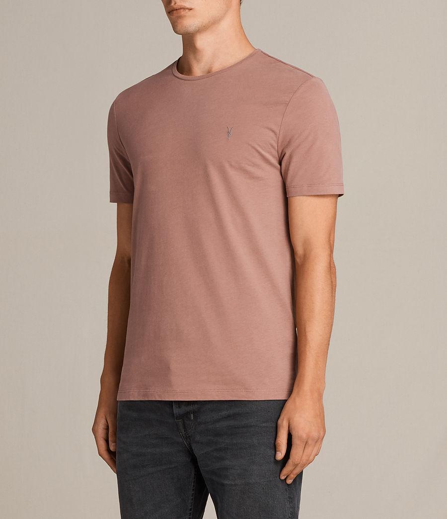 Uomo T-shirt Brace Tonic (treacle_red) - Image 3