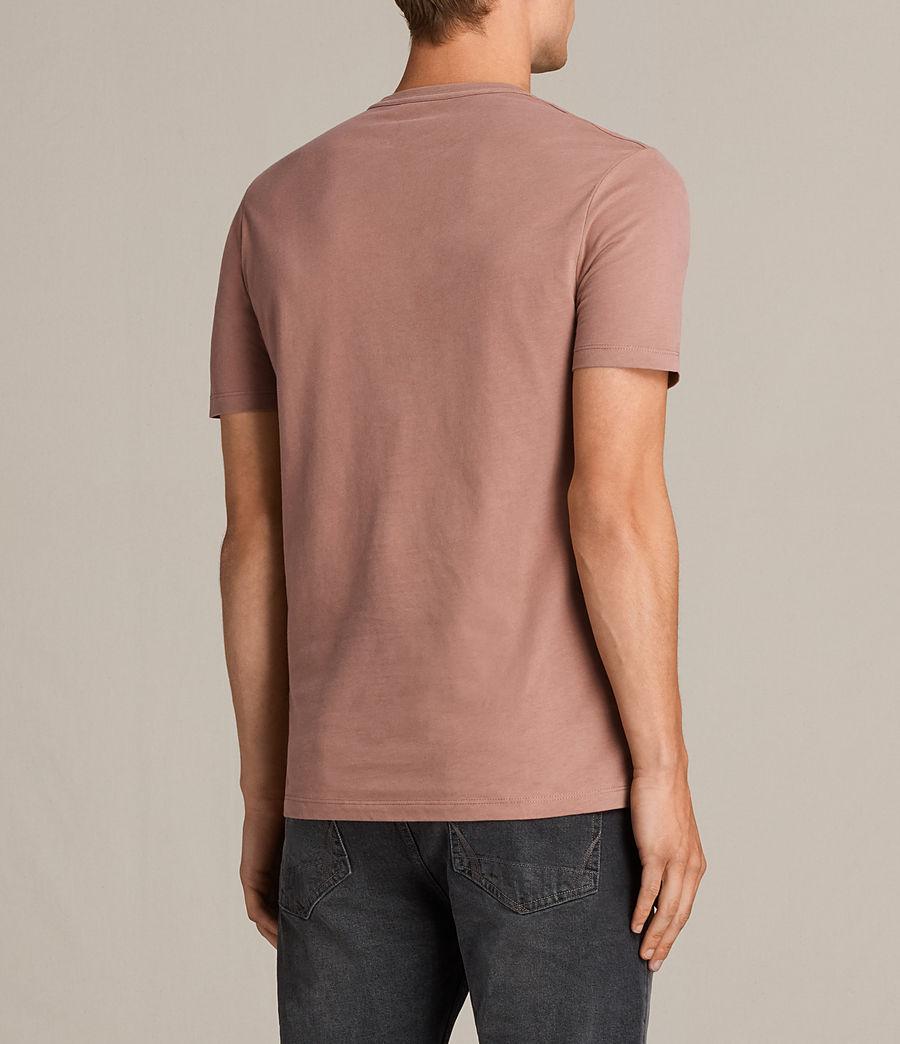 Uomo T-shirt Brace Tonic (treacle_red) - Image 4