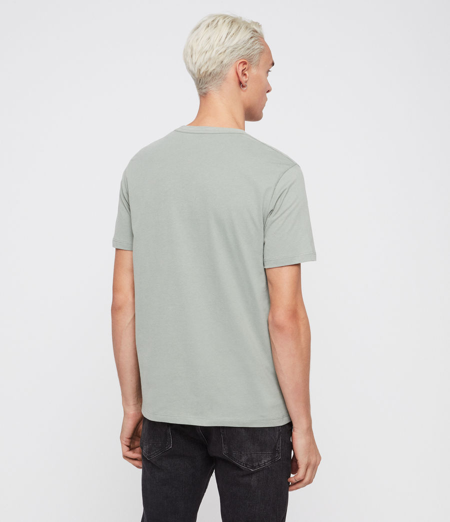 Mens Brace Tonic Short Sleeve Crew T-Shirt (grey_marl) - Image 5