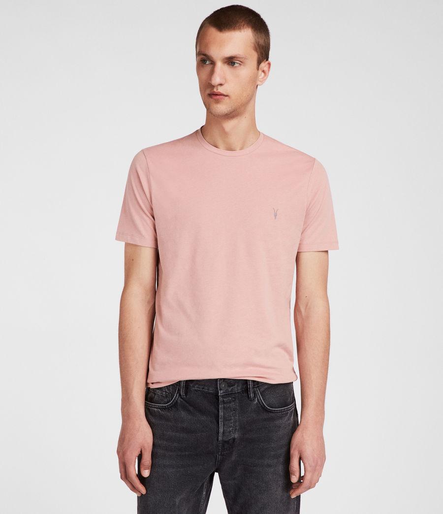 Men's Brace Tonic Crew T-Shirt (crepe_pink) - Image 1