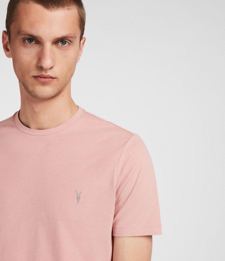 Men's Brace Tonic Crew T-Shirt (crepe_pink) - Image 3