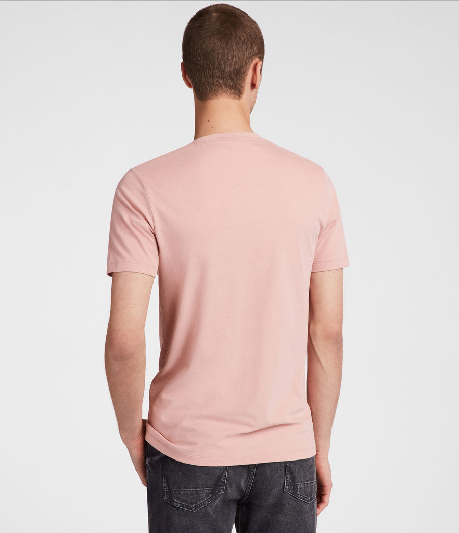 Men's Brace Tonic Crew T-Shirt (crepe_pink) - Image 4