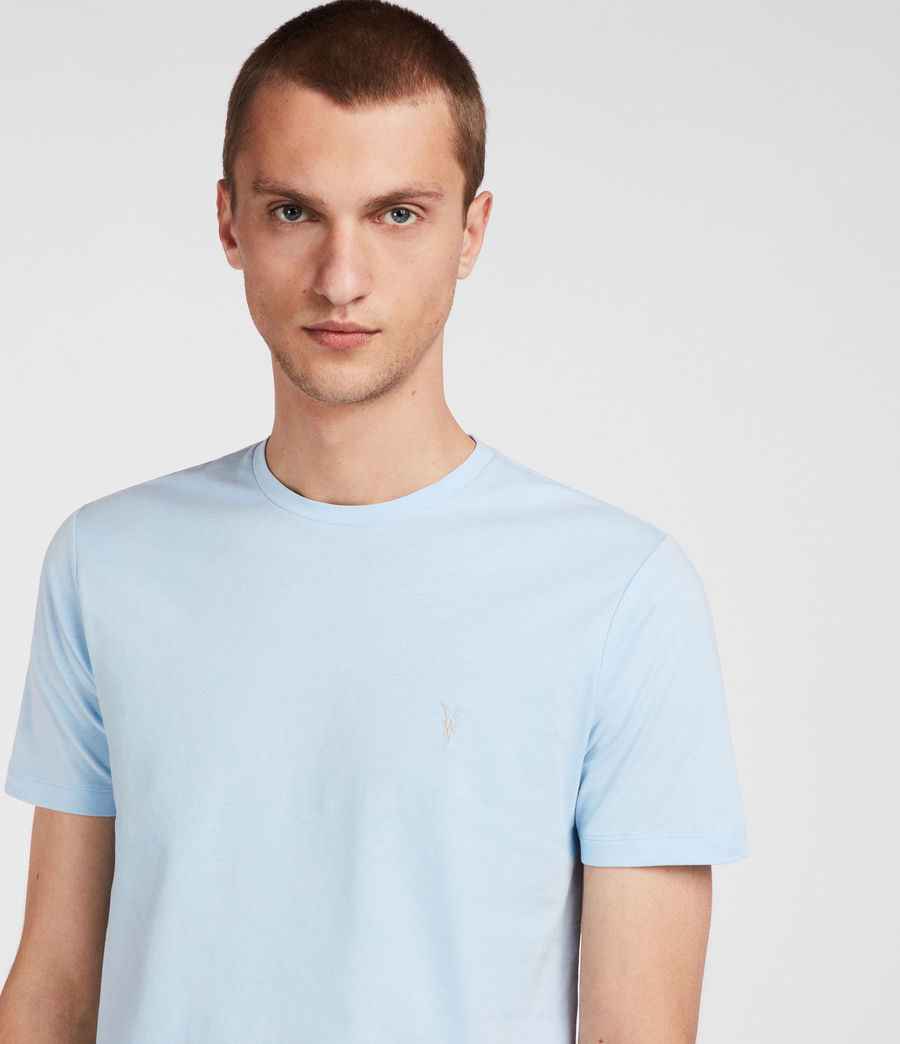 Men's Brace Tonic Crew T-Shirt (icing_blue) - Image 2