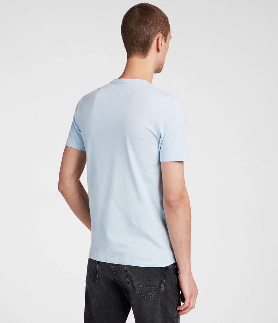 Men's Brace Tonic Crew T-Shirt (icing_blue) - Image 4