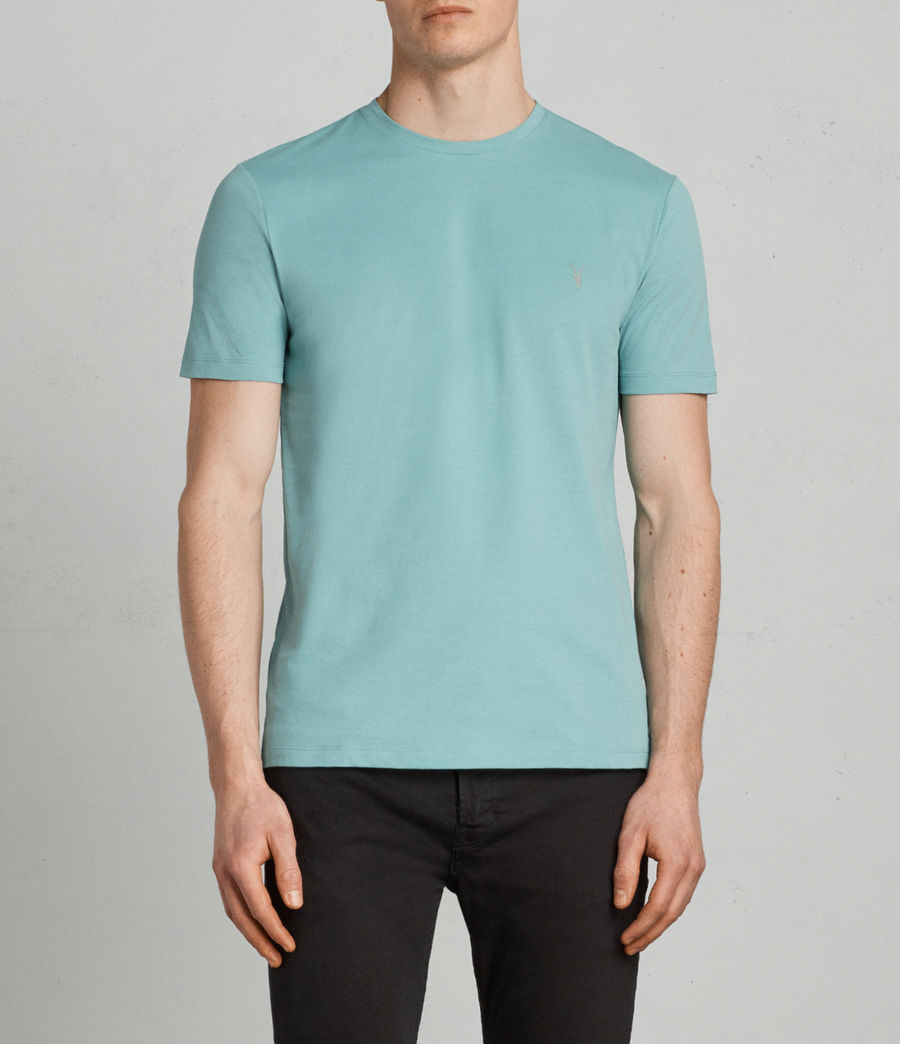 Men's Brace Tonic Crew (miami_green) - Image 1