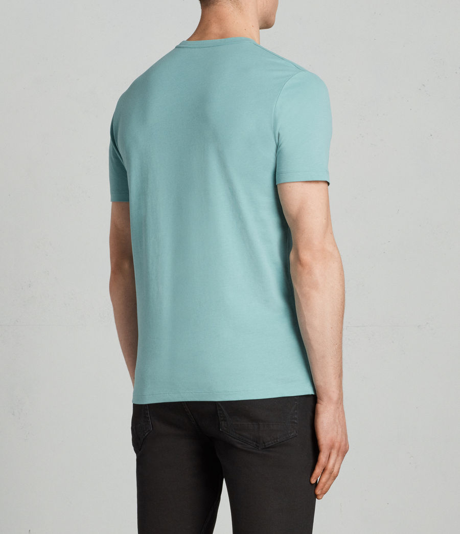 Men's Brace Tonic Crew (miami_green) - Image 4