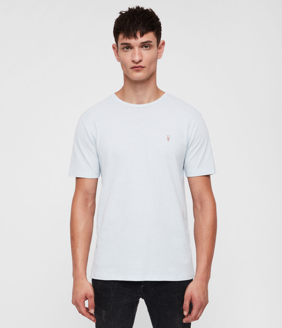 Men's Brace Tonic Crew T-Shirt (cloud_blue_marl) - Image 1