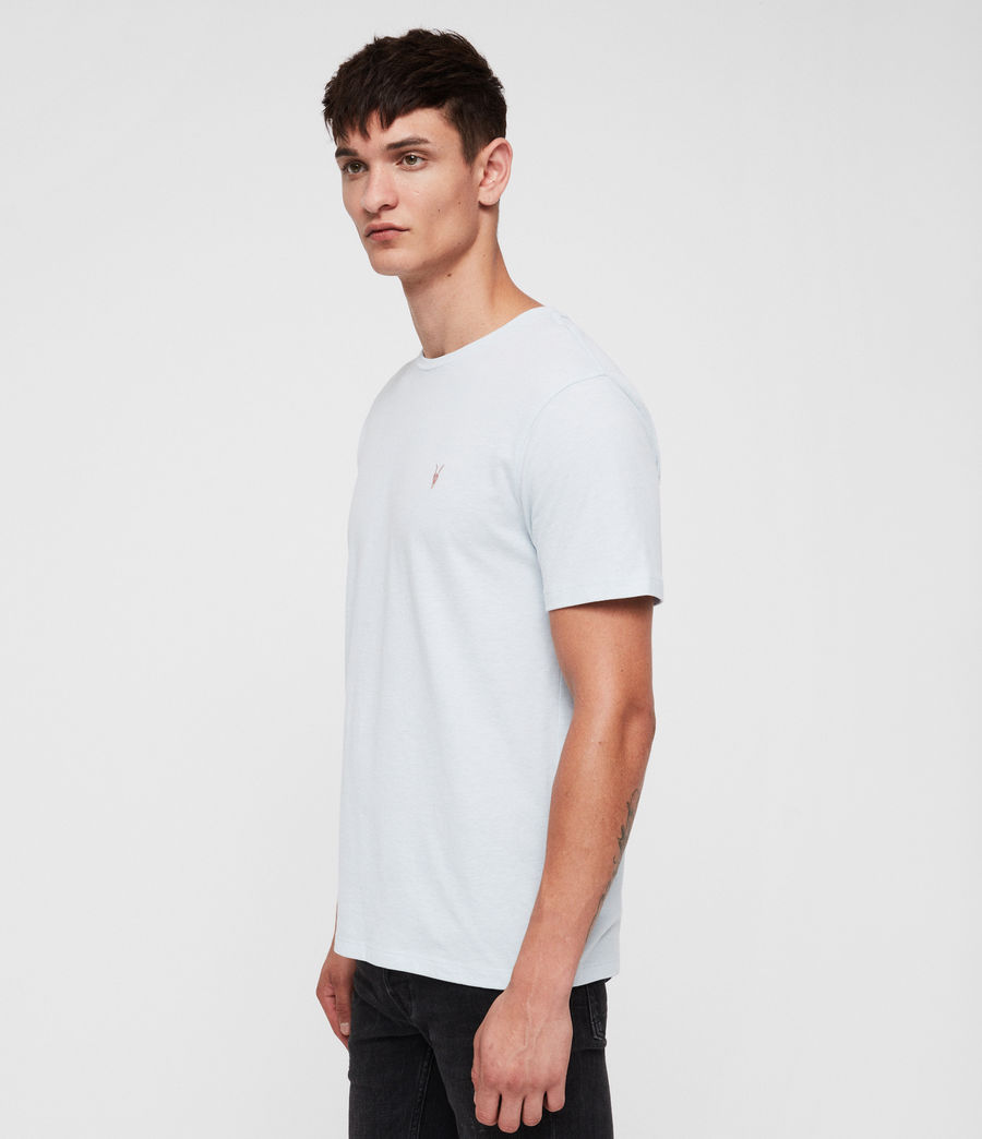 Men's Brace Tonic Crew T-Shirt (cloud_blue_marl) - Image 3