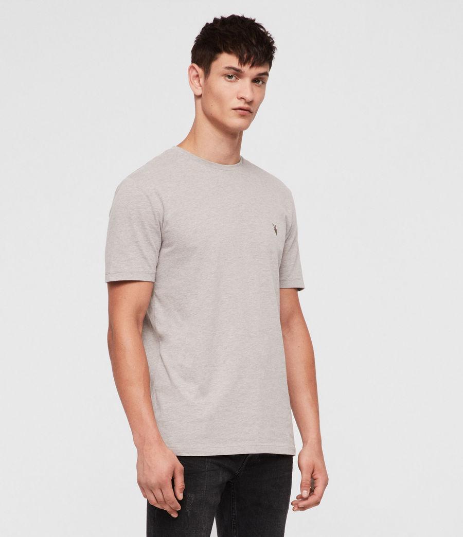 Mens Brace Tonic Crew T-Shirt (mine_grey_marl) - Image 3