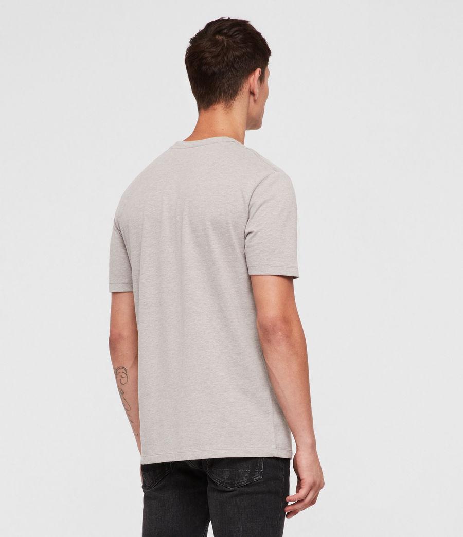 Mens Brace Tonic Crew T-Shirt (mine_grey_marl) - Image 4