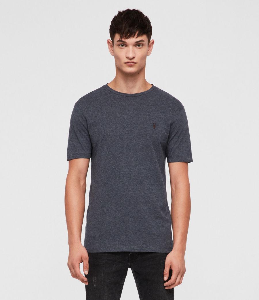 Herren Brace Tonic Crew T-Shirt (merchant_ink_marl) - Image 1