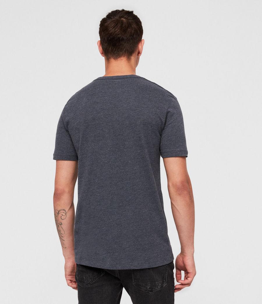 Herren Brace Tonic Crew T-Shirt (merchant_ink_marl) - Image 4