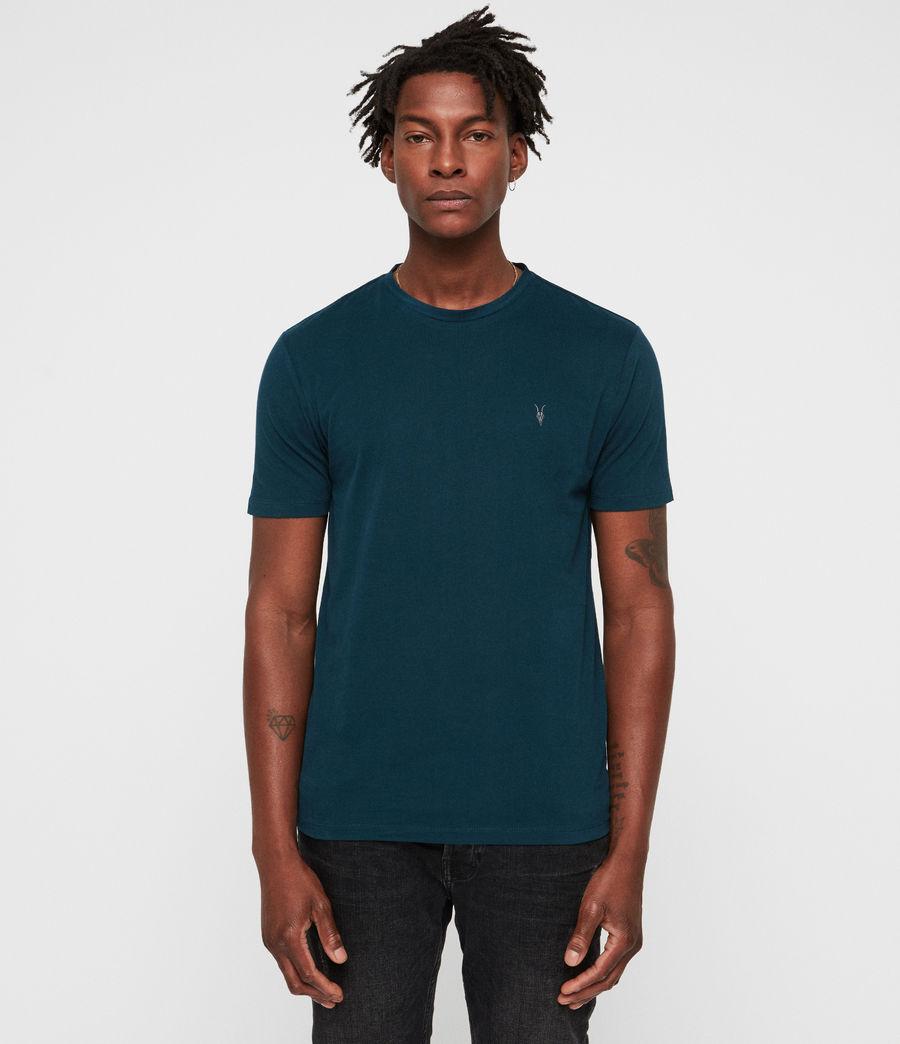 Hombres Camiseta Brace Tonic (dawn_green) - Image 1