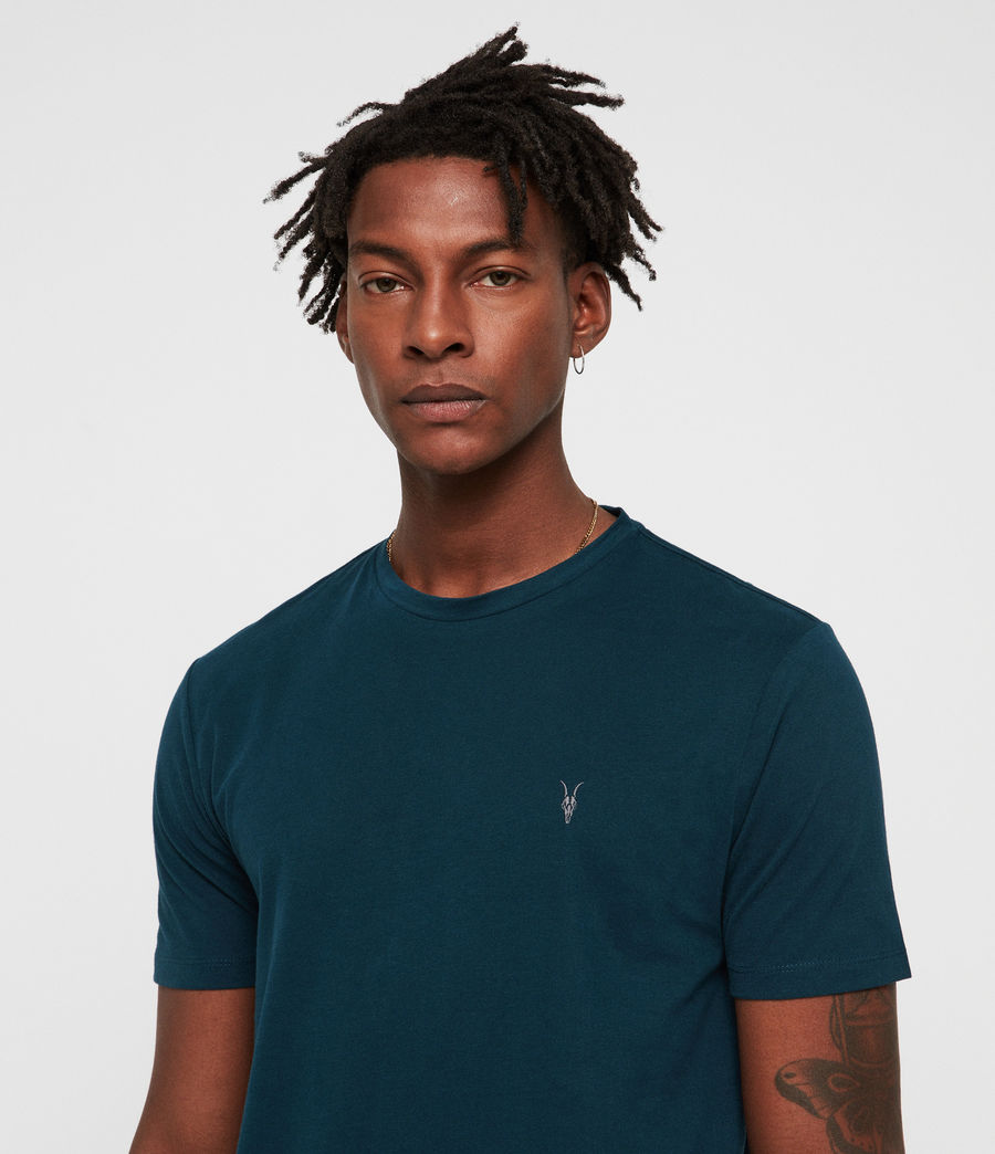 Hombres Camiseta Brace Tonic (dawn_green) - Image 2
