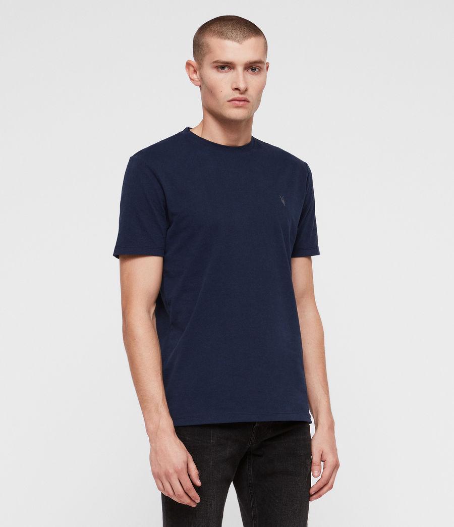 Herren Brace Tonic Crew T-Shirt (arctic_blue) - Image 1