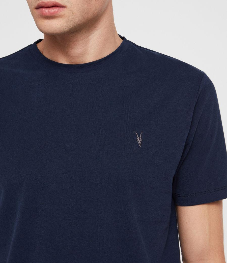 Herren Brace Tonic Crew T-Shirt (arctic_blue) - Image 2