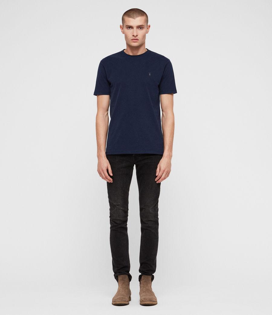 Herren Brace Tonic Crew T-Shirt (arctic_blue) - Image 3