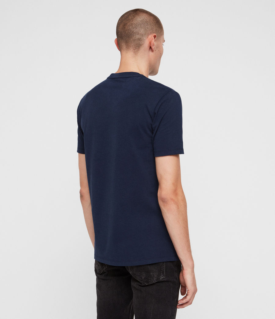 Herren Brace Tonic Crew T-Shirt (arctic_blue) - Image 4