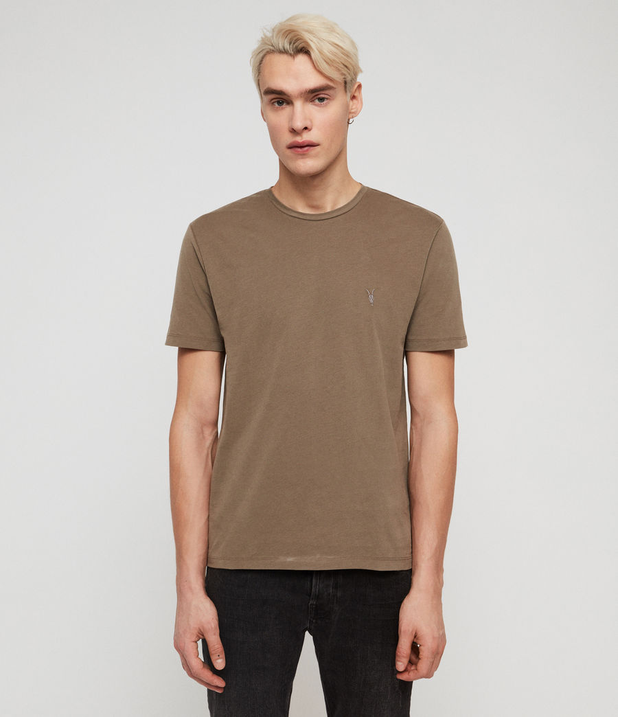 Mens Brace Tonic Crew T-Shirt (sheal_green) - Image 1