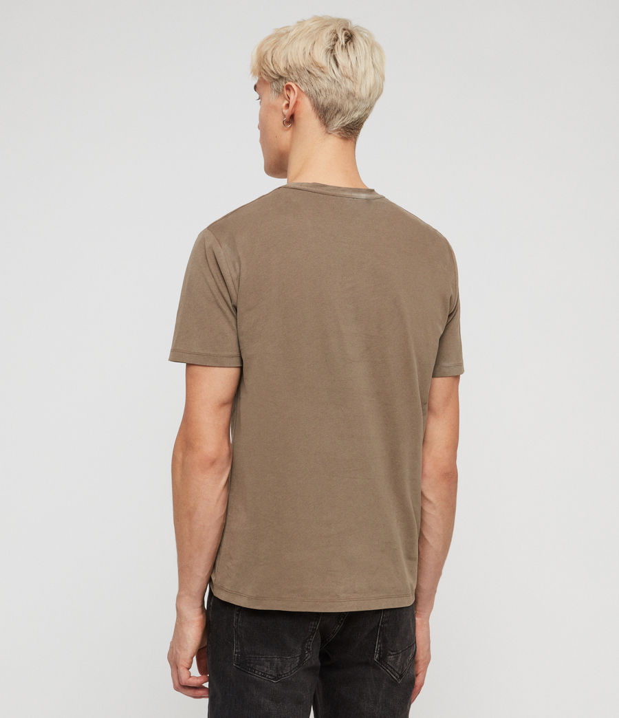 Mens Brace Tonic Crew T-Shirt (sheal_green) - Image 4