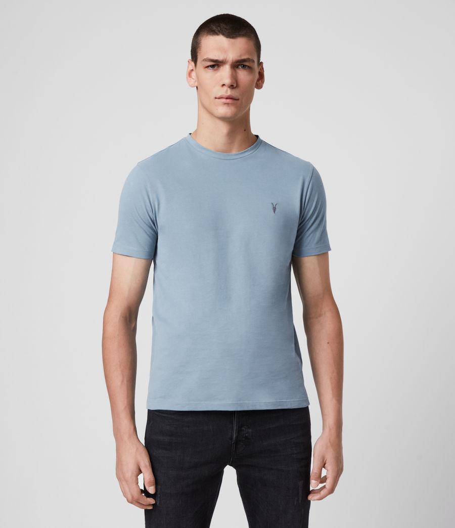 Hombres Brace Tonic Crew T-Shirt (haze_blue) - Image 1