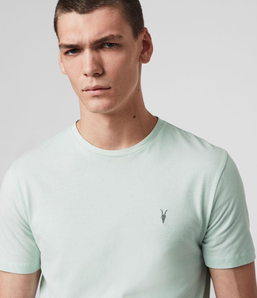 Mens Brace Tonic Crew T-Shirt (menthe_green) - Image 1