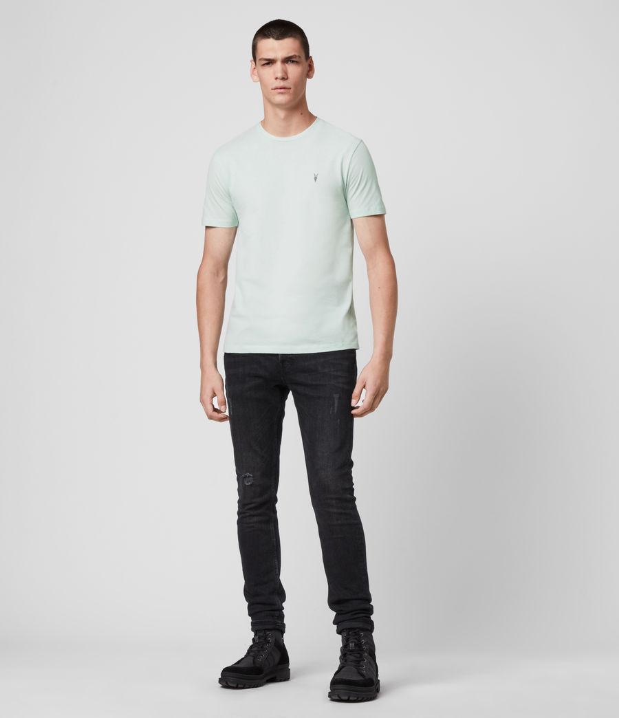 Mens Brace Tonic Crew T-Shirt (menthe_green) - Image 2