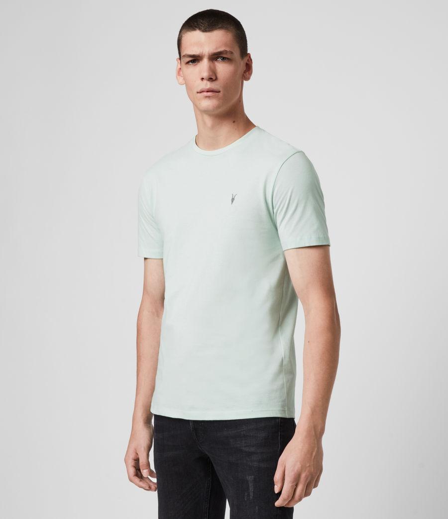 Mens Brace Tonic Crew T-Shirt (menthe_green) - Image 3