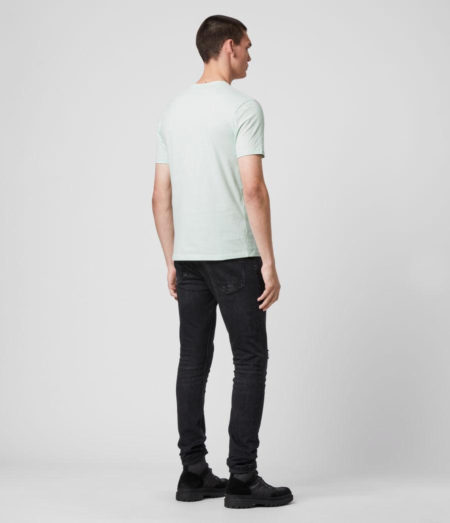 Mens Brace Tonic Crew T-Shirt (menthe_green) - Image 4