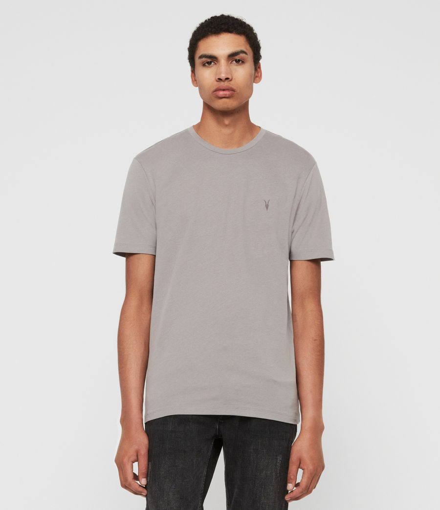Men's Brace Tonic Crew T-Shirt (flint_grey) - Image 1