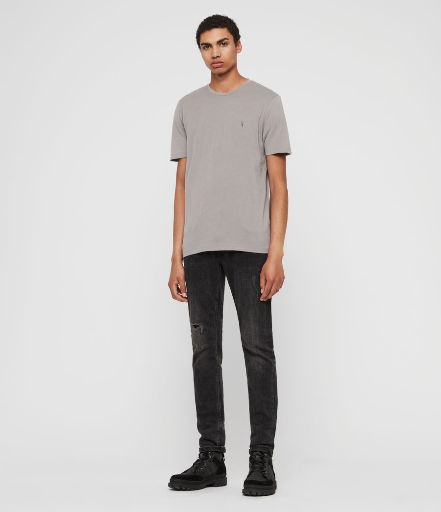 Men's Brace Tonic Crew T-Shirt (flint_grey) - Image 3
