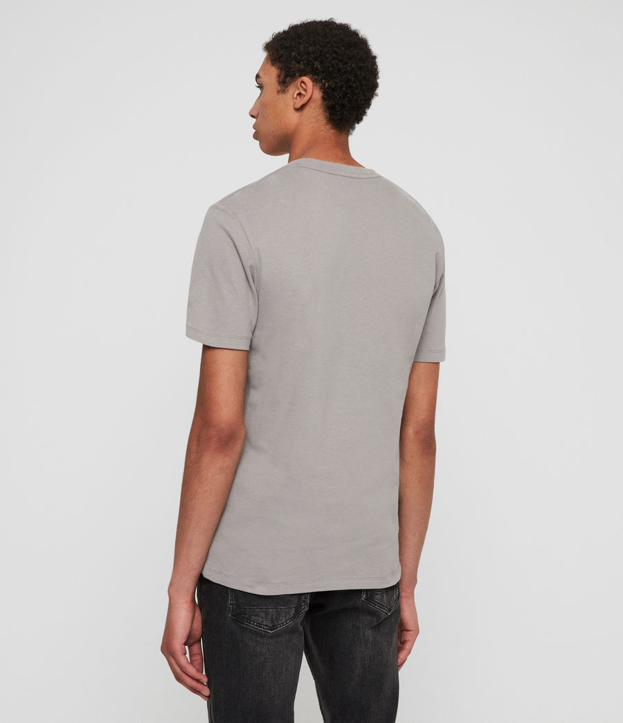Men's Brace Tonic Crew T-Shirt (flint_grey) - Image 4